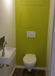 Installation d'un sanitaire